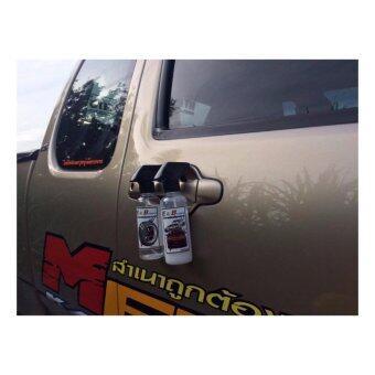 น้ำยาเคลือบสีรถและกระจก E&B carwax (1ขวด)