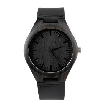 Allwin ไม้มะเกลือไม้นาฬิกาโบราณนาฬิกาควอทซ์หน้าปัดนาฬิกาสองคนผู้หญิงสีดำ