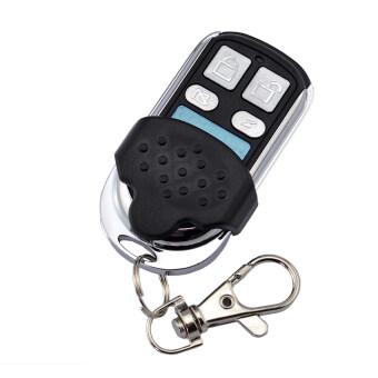 เป็น 007 ที่ 315 เมกะเฮิรตซ์ 4 กุญแจรีโมททั่วไปกุญแจป้องกันขโมยสำหรับรถ-สีดำ