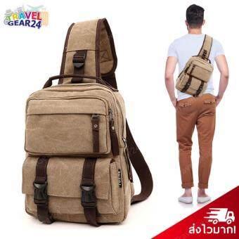 TravelGear24 กระเป๋าคาดอก กระเป๋าสะพายไหล่ กระเป๋าสะพายข้าง กระเป๋าใส่ไอแพ ใส่ Macbook 11