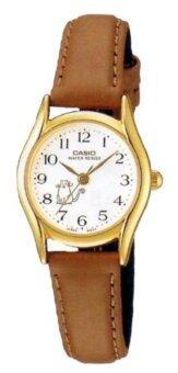 Casio Standard นาฬิกาข้อมือผู้หญิง รุ่น LTP-1094Q-7B8 - Brown