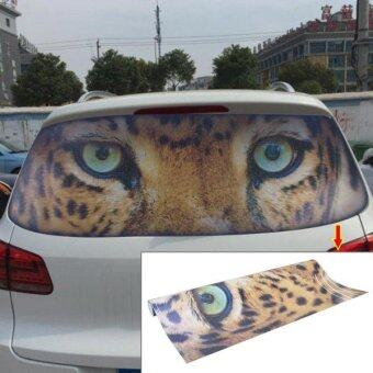 Garland Design Car Sticker Decal Waterproof Backup Window Panther Eye Styling 3D Emblem External Side Personalized Car Wall House Decoration Size: 130cm X ...