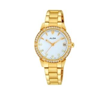 ALBA นาฬิกาข้อมือ Alba รุ่น AG8494X1 ( สีทอง )