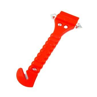 iBettalet ค้อนทุบกระจก พร้อมมีดตัดเข็มขัด (Red)