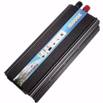 DDDiscount อินเวอร์เตอร์แปลงไฟ 2000W (สีดำ)