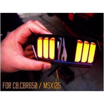 ไฟท้าย+ไฟเลี้ยวในตัว สำหรับ MSX, DEMON (V.3) ทรงสปอร์ต