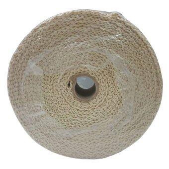 Sard ผ้าพันท่อเฮดเดอร์ ทนความร้อน 1200 องศา ยาว 10 M (สีขาว)