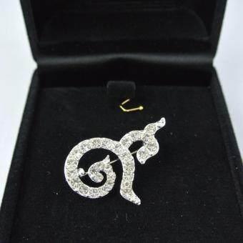 Pearl Jewelry เข็มกลัดไว้อาลัย 9 มหามงคล PK09 งานดีพลอยสวย รุ่นเล็ก