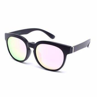 Marco Polo แว่นสายตา+คลิปออนกันแดด - EMD58044 PK(Transparent Multicolor)(Transparent Multicolor)