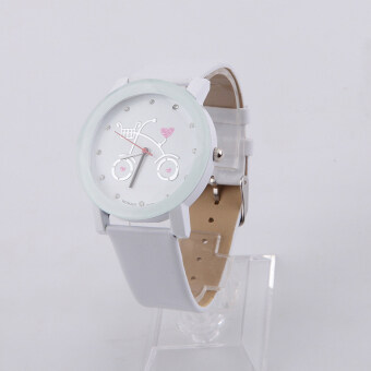 Harga Hot selling watches Leisure watches sell like hot cakes Cartoon watches sell like hot cakes white (Intl)