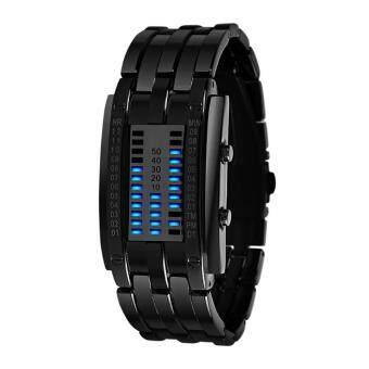 นาฬิกาข้อมือ SKMEI Watch ชายนาฬิกาสแตนเลสสตีลชาย 30 ปี 30 ม. - นาฬิกา intl