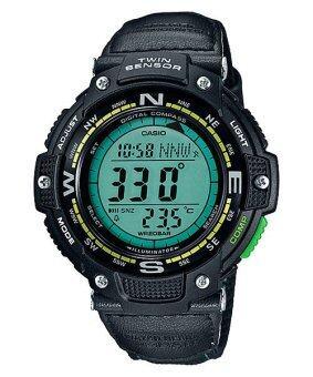Casio Outgear นาฬิกาผู้ชาย สีดำ สายเรซิ่น รุ่น SGW-100B-3A2