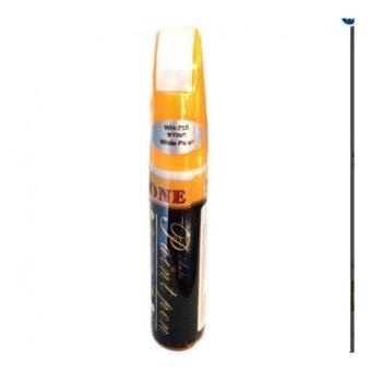 ปากกาแต้มสีรถ ปากกาลบลอยขีดขวน สีขาวมุก (WH-755)