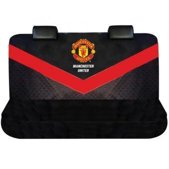 Manchester United ที่หุ้มเบาะหลังรถกระบะ / รถ 5 ประตู Man U Brave V (สีดำแดง)