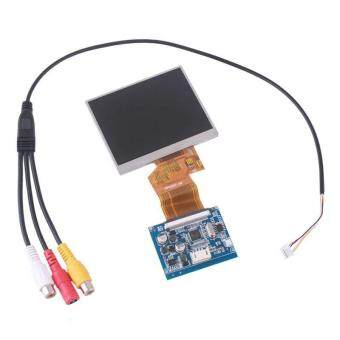 """BUYINCOINS 3.5 TFT LCD Car Rear View Digital Monitor DVD VCR Video Camera Gadgets"""""""