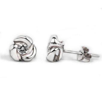 finejewelthai-ต่างหู-ต่างหูเพชร-Diamond-Earring-E1054cz