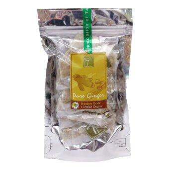 DAZZLING-T ชาสมุนไพร ขิง (Ginger Herbal Tea) T-bags 12x 1.5 g.