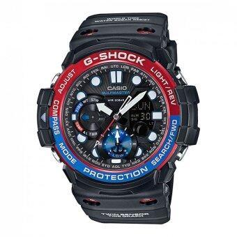 Casio G-Shock ผู้ชายสีดำยางรัดนาฬิกา GN-1 000.., 1 Amp