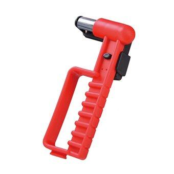 Rescueboxz ค้อนทุบกระจก ค้อนนิรภัย Safety Hammer (สีแดง)