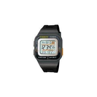 Casio Standard นาฬิกาข้อมือผู้หญิง สีดำ สายเรซิ่น SDB-100-1ADF