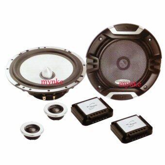 เครื่องเสียงรถยนต์ ลำโพงแยกชิ้น 400วัตต์ 6.2 นิ้ว+เน็ตเวอร์ค+เสียงแหลม Mc Winson MC-6.2 HYPER MKII