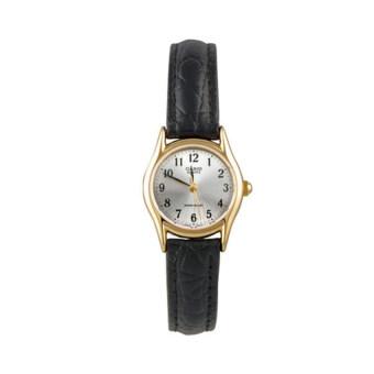 Casio นาฬิกาข้อมือผู้หญิง รุ่น LTP-1094Q-7B2RDF สีดำ (Black)