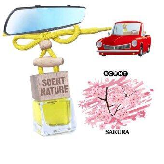 Thai scent Nature Car Air Fresheners น้ำหอมปรับอากาศในรถ กลิ่น ซากุระ