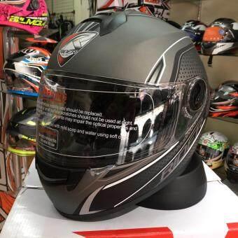 Rider หมวกกันน็อก หมวกกันน็อค หมวกกันน๊อก หมวกกันน๊อค Rider Viper X สี ดำ-ขาว Dot Black-white (Big Bike and motorcycle Helmet)
