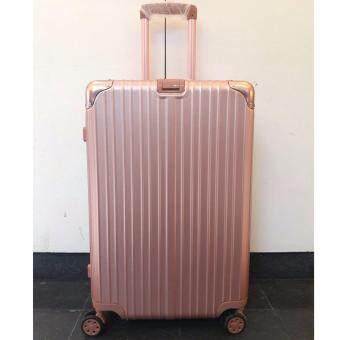 LIMAVO Aluminuim #PINK29 กระเป๋าเดินทาง 29 นิ้ว/ Pinkgold TSA lock