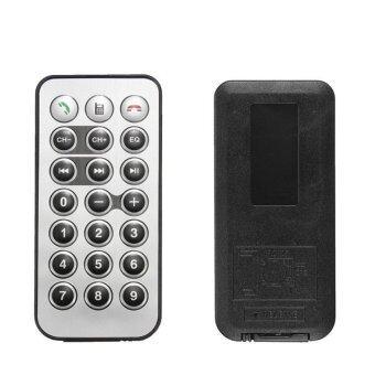 301E Wireless Bluetooth Car Kit Handsfree FM Transmitter (Black)