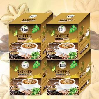 UMB Sacha Inchi Coffee Mix Double X2 กาแฟถั่วดาวอินคา รสเข้มข้น 4 กล่อง