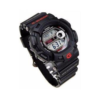 CASIO G-SHOCK รุ่น G-9100-1DR (CMG) นาฬิกาข้อมือ สายเรซิ่น สีดำประกันcmg