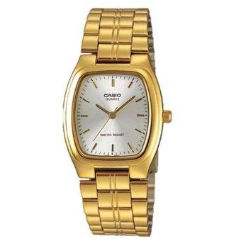 Casio Standard Men's นาฬิกาข้อมือผู้ชายสายสแตนเลส รุ่น MTP-1169N-7ARDF- Gold/Silver
