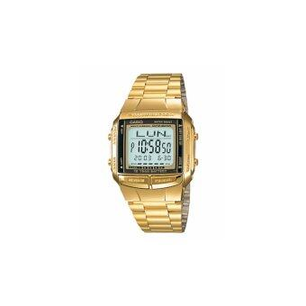 Casio Gold Tone นาฬิกาข้อมือผู้ชาย สายแสตนเลส รุ่น Db360G-9Adf (Gold)ประกันcmg