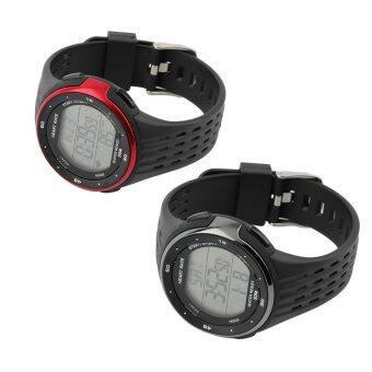 โอ้อกไร้สายรัดกีฬากลางแจ้งนาฬิกานาฬิกาอัตราการเต้นของหัวใจ p3144 รุ่นสีดำ