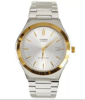 Casio Men นาฬิกาข้อมือ รุ่น MTP-1170G-7A (Silver)