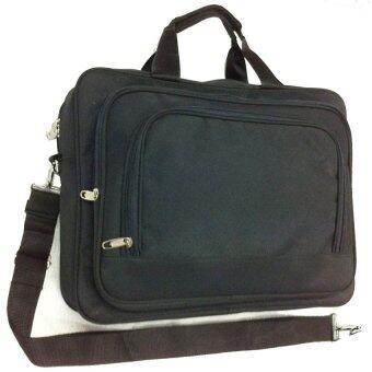 SUCCESS กระเป๋าสะพายข้าง ใส่เอกสาร ขนาด 15 นิ้ว ผ้า 300 D PVC (BF 047)