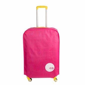 ผ้าคลุมกระเป๋าเดินทาง ITO สีชมพู 20''