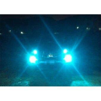 LED หลอดไฟรถยนต์ หลอดไฟตัดหมอก HB4 (9006) แสงสีฟ้า จำนวน 1 คู่ (ICE BLUE) แถมฟรี ไฟหรี่ SMD แท้ 100% มูลค่า 250 บาท (image 3)