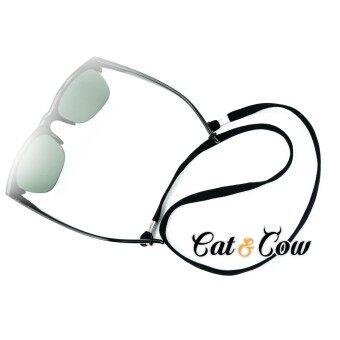 Cat & Cow รุ่น LC90-B,, #สายคล้องแว่นตา Eyewear Retainer สีดำ