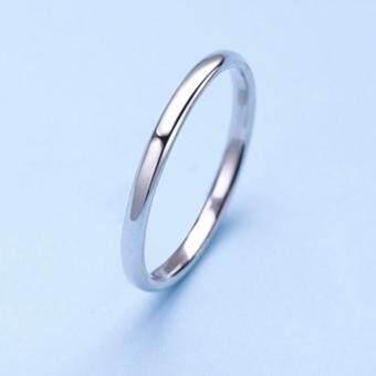 TANITTgemsแหวนเกลี้ยงเงินแท้ Sterling Silver92.5%