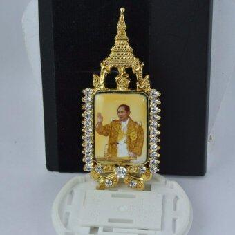 Pearl Jewelry เข็มกลัดในหลวง No.4 งานไทยคุณภาพเลิศ(Gold)