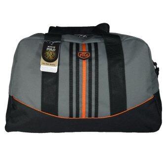 Romar Polo กระเป๋าเดินทางแบบถือสะพายข้าง ขนาด 20 นิ้ว B-Sport Code 21190 Black (Grey) (image 0)