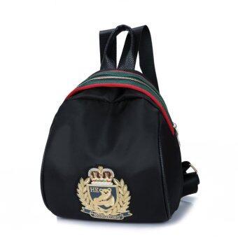 Ccjeans Black women bag กระเป๋าสะพายหลัง สำหรับคุณผู้หญิง