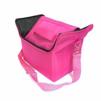 Dona Lashes กระเป๋าเครื่องสำอาง - สีชมพู