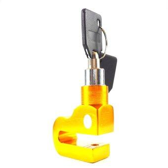 D-LOCK กุญแจล๊อคดิสเบรค รุ่น D-LOCK 004 (สีทอง)