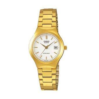 Casio Lady นาฬิกาข้อมือ รุ่น LTP-1170N-7A (Gold)