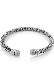 555jewelry กำไลข้อมือสำหรับสุภาพสตรี ขนาดเล็ก รุ่น MNC-BG037-A - Steel (BG3)