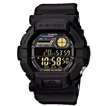 Casio G-Shock นาฬิกาข้อมือรุ่น GD-350-1BDR - ประกัน CMG 1 ปี