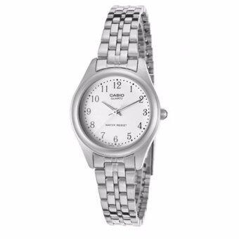 Casio Standard นาฬิกาข้อมือผู้หญิง สายสแตนเลส รุ่น LTP-1129A-7BRDF (สีเงิน)